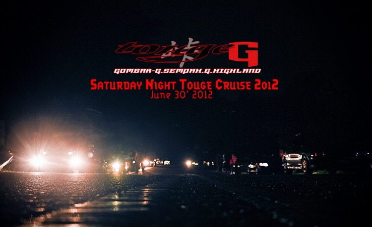 Saturday Night Touge Cruise - June 2012