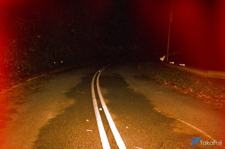 Keadaan Jalan Bukit Putus sekitar Jam 1.30 pagi