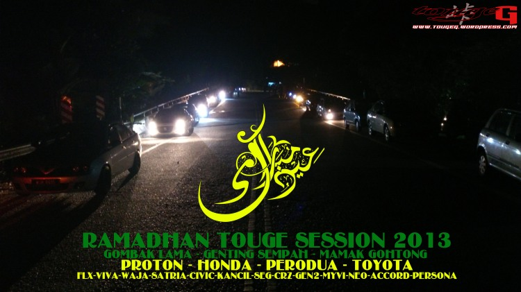 Ramadhan Touge Sessiion 2013